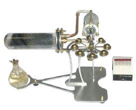 Hielscher Ball Stirling Engine